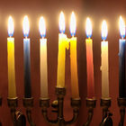 Adventsamling med mykje lys