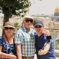 Jubileumstur til Israel